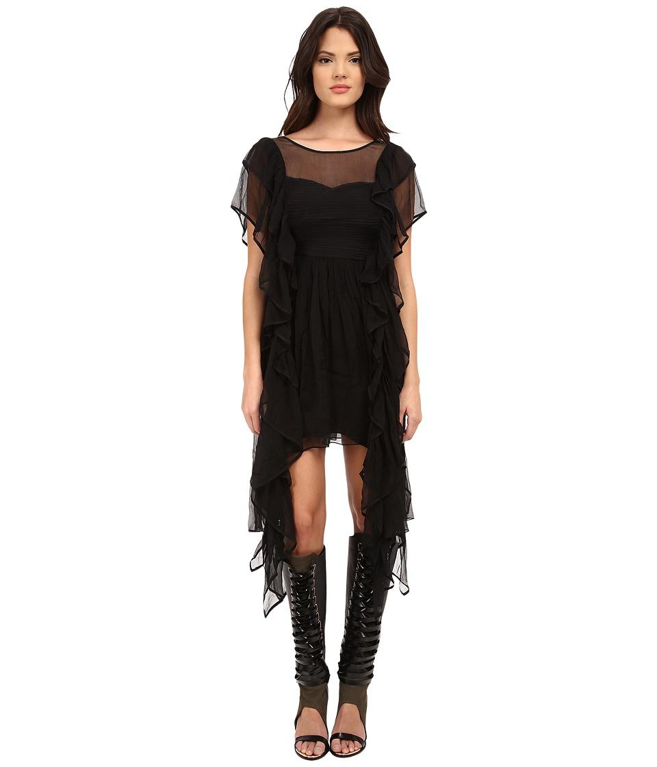 LOVE Binetti - Black Panther Dress (Black) Women's Dress