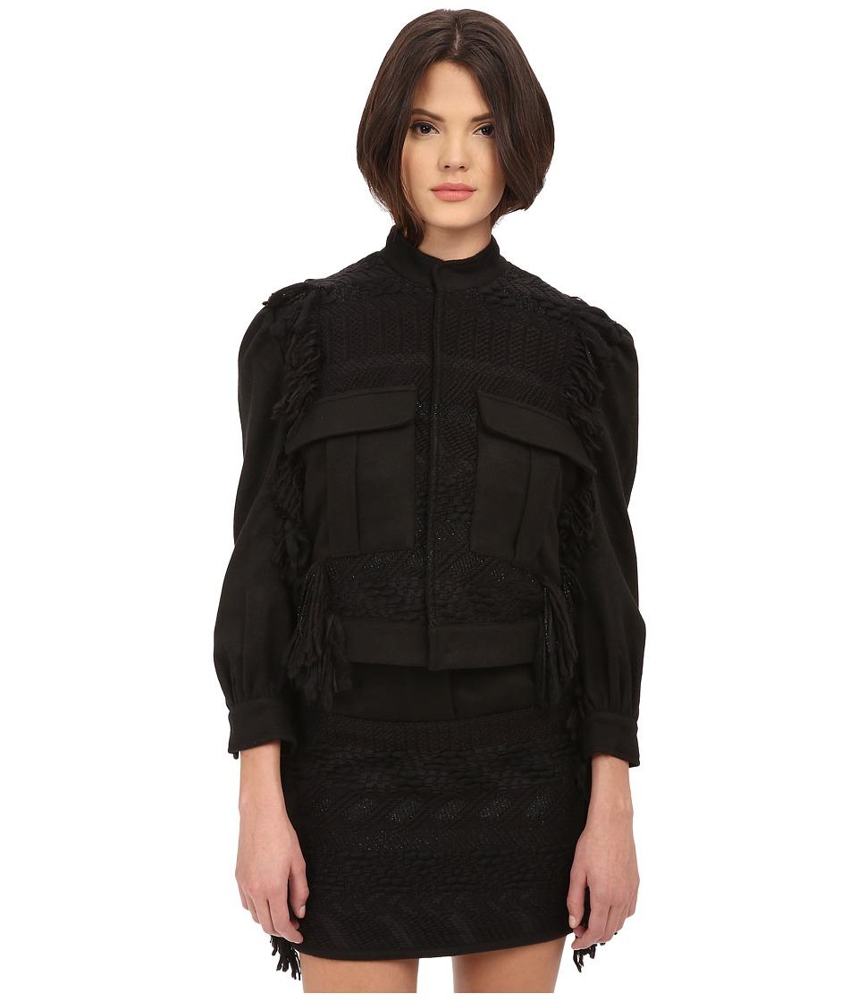 LOVE Binetti - Bob Dylan Coat (Black) Women's Coat