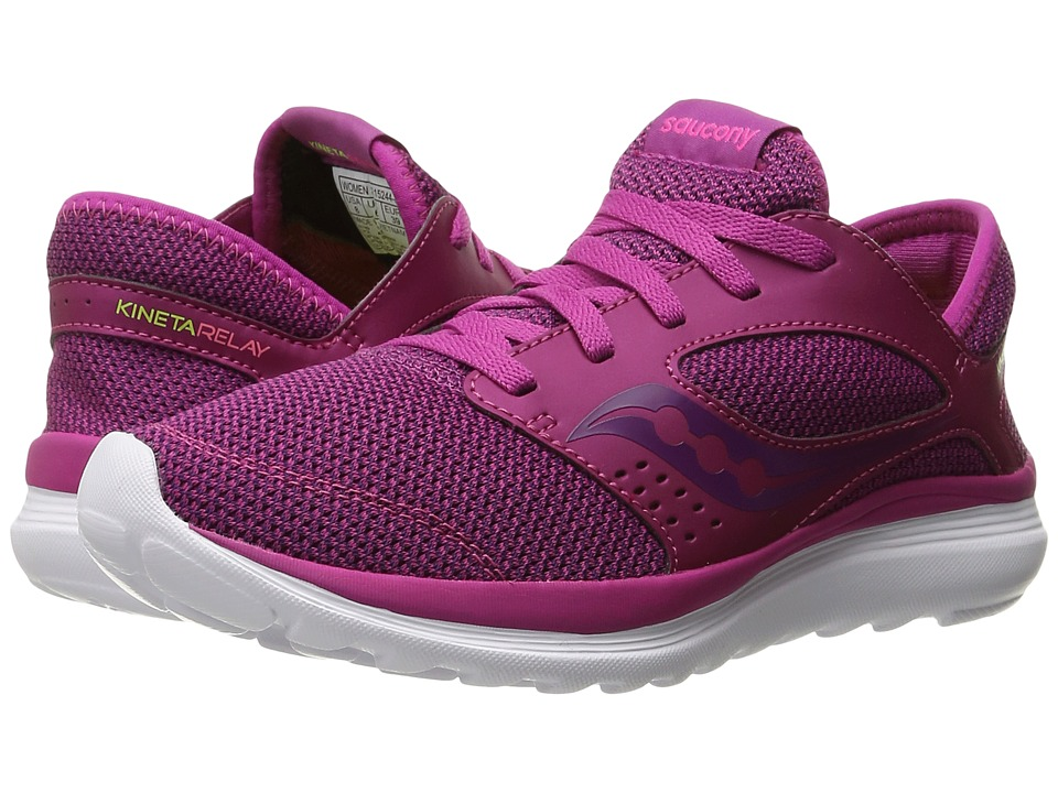 Saucony Kineta Relay (Fuchsia/Berry) Women