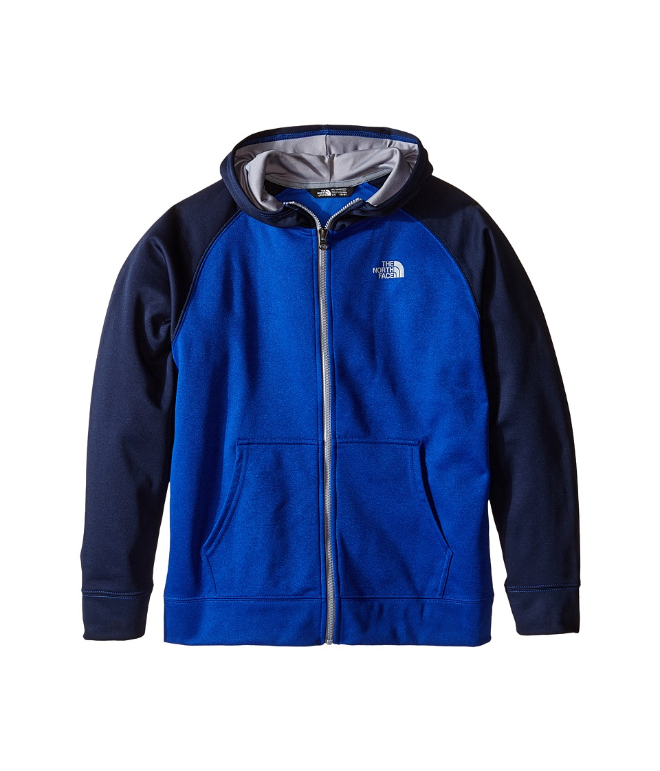 The North Face Kids - Surgent Full Zip Hoodie (Little Kids/Big Kids) (Honor Blue Heather) Boy's Sweatshirt