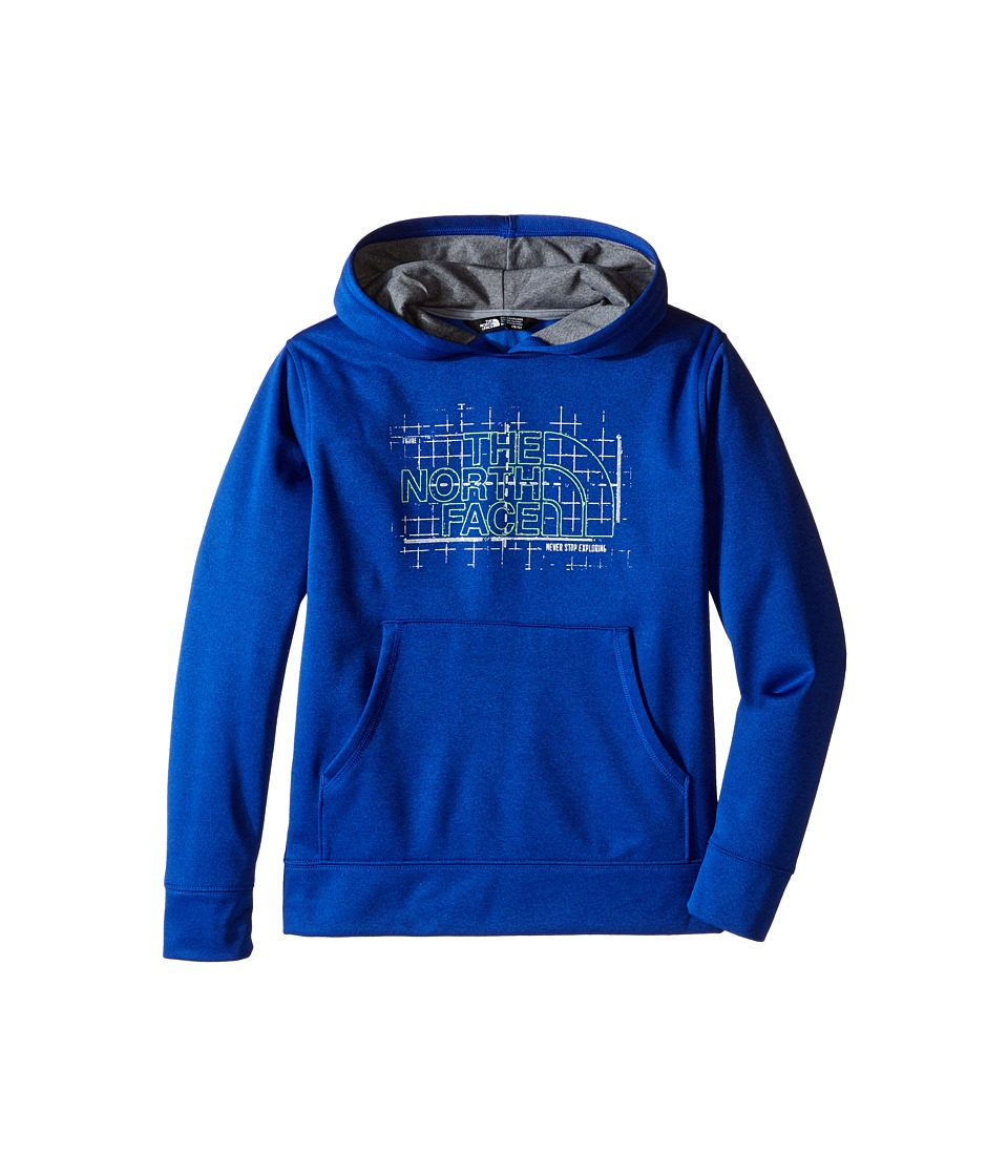 The North Face Kids - Surgent Pullover Hoodie (Little Kids/Big Kids) (Honor Blue Heather (Prior Season)) Boy's Sweatshirt