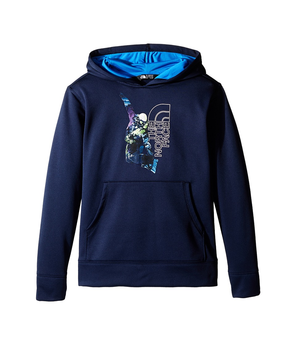 The North Face Kids - Surgent Pullover Hoodie (Little Kids/Big Kids) (Cosmic Blue) Boy's Sweatshirt