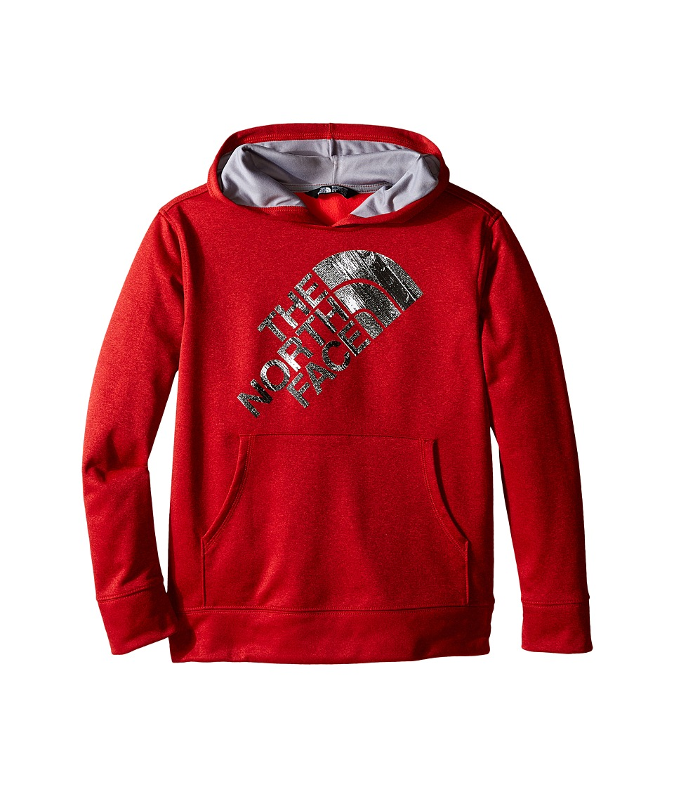 The North Face Kids - Surgent Pullover Hoodie (Little Kids/Big Kids) (TNF Red Heather) Boy's Sweatshirt