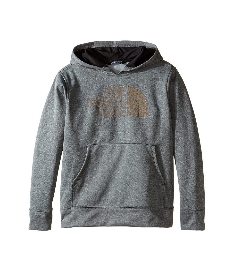 The North Face Kids - Surgent Pullover Hoodie (Little Kids/Big Kids) (TNF Medium Grey Heather) Boy's Sweatshirt