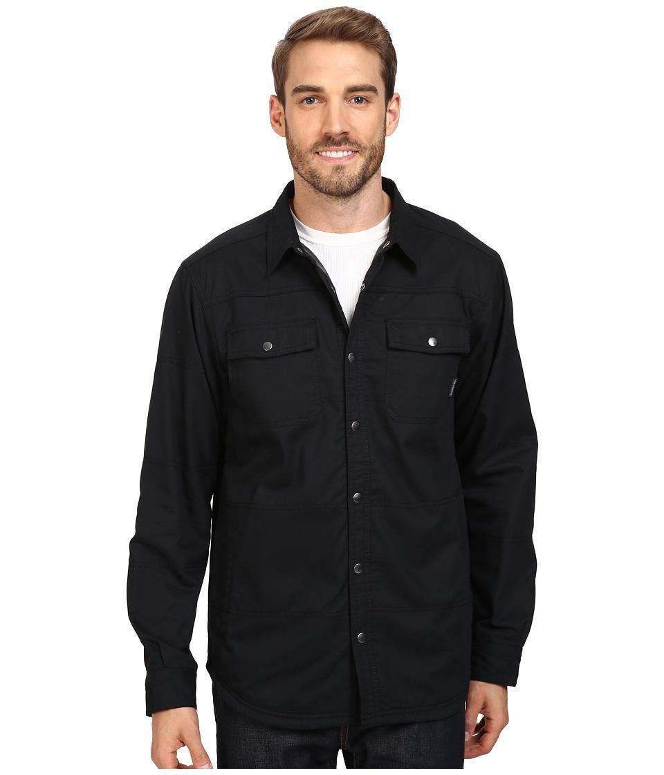 Columbia Log Vista Shirt Jacket (Black/Camo) Men's Long S...