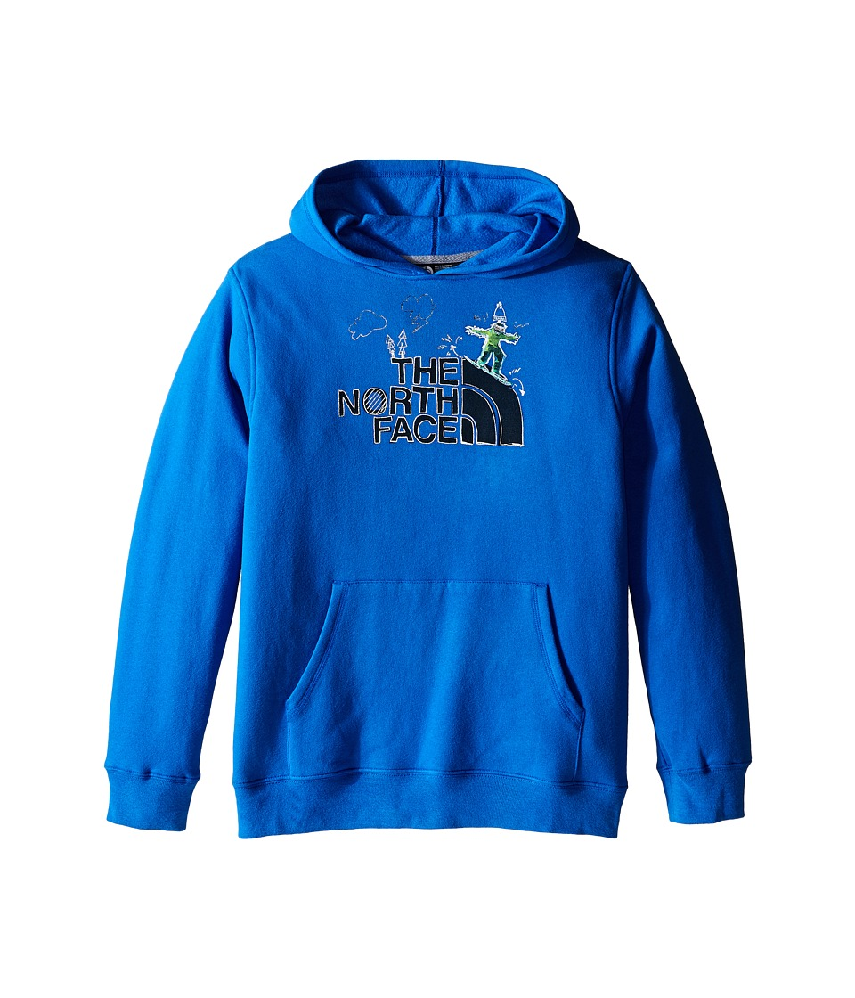 The North Face Kids - Logowear Pullover Hoodie (Little Kids/Big Kids) (Jake Blue) Boy's Sweatshirt