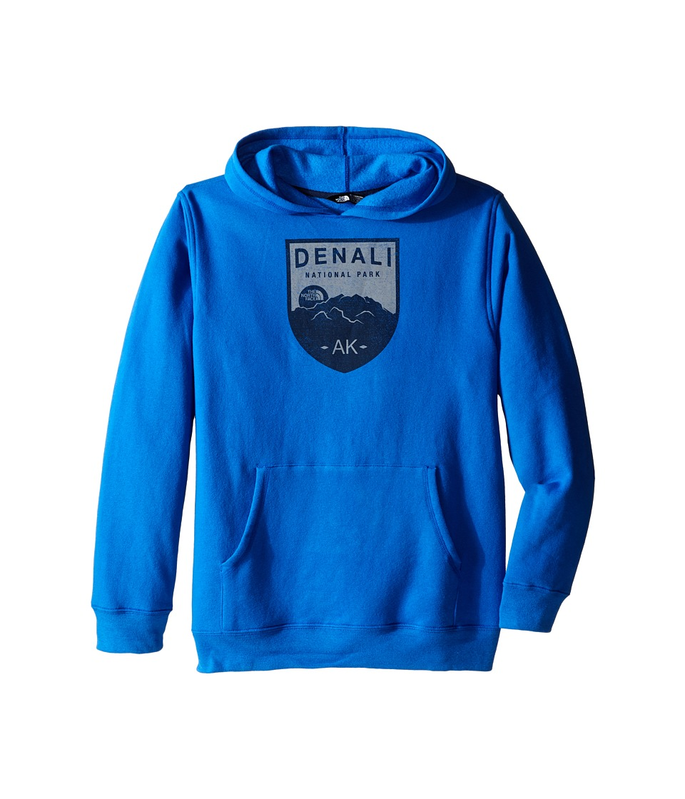 The North Face Kids - Logowear Pullover Hoodie (Little Kids/Big Kids) (Jake Blue/Cosmic Blue) Boy's Sweatshirt