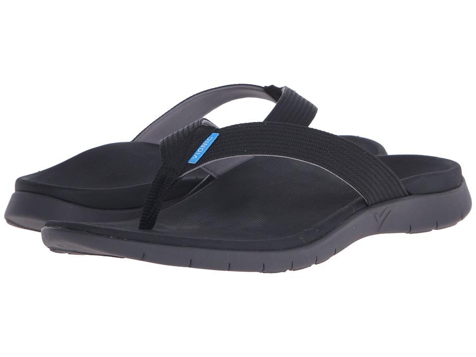 VIONIC - Islander (Black) Men's Sandals