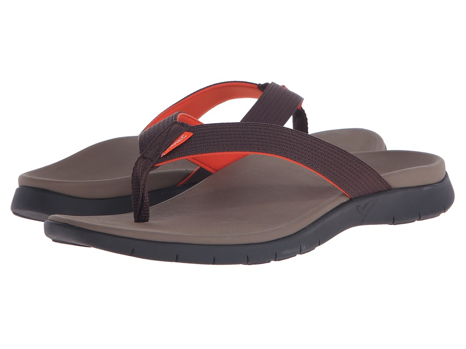VIONIC - Islander (Dark Brown) Men's Sandals