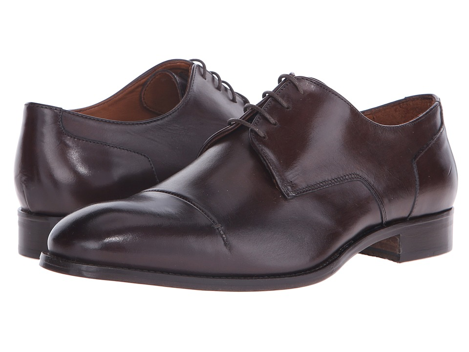 Massimo Matteo - 4-Eye Cap Toe 16 (Dark) Men's Lace Up Cap Toe Shoes