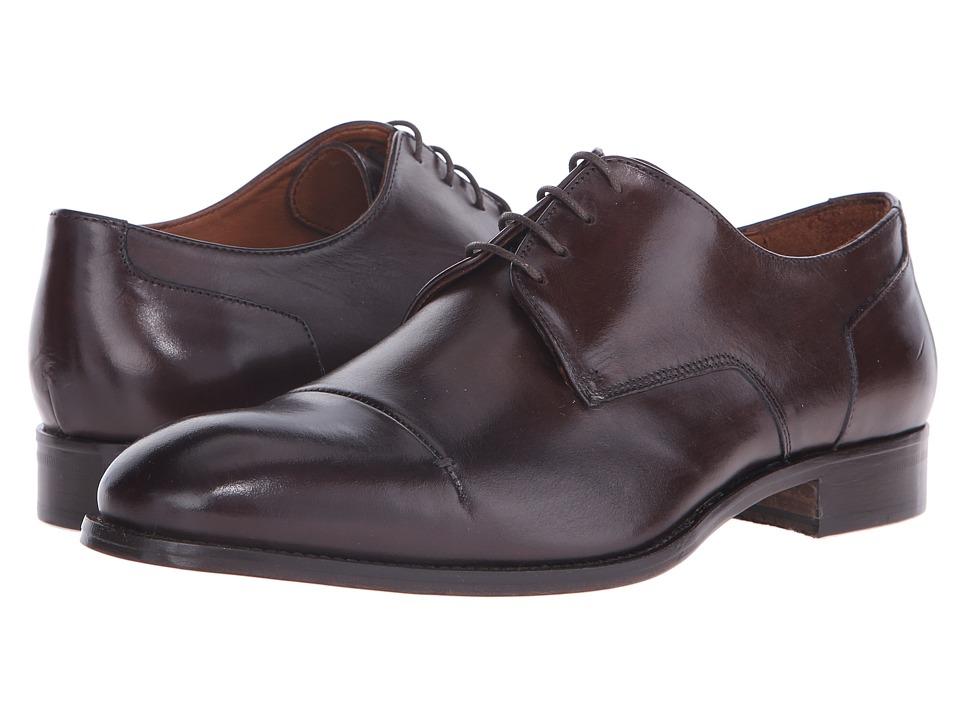 Massimo Matteo - 4-Eye Cap Toe 16 (Dark) Men's Lace Up Cap Toe Shoes