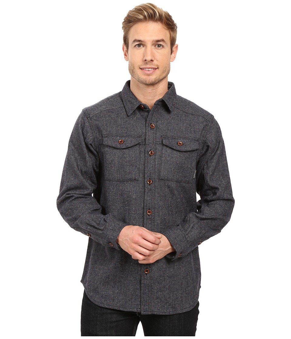 Columbia - Sage Butte Long Sleeve Shirt (Collegiate Navy) Men's Long Sleeve Button Up