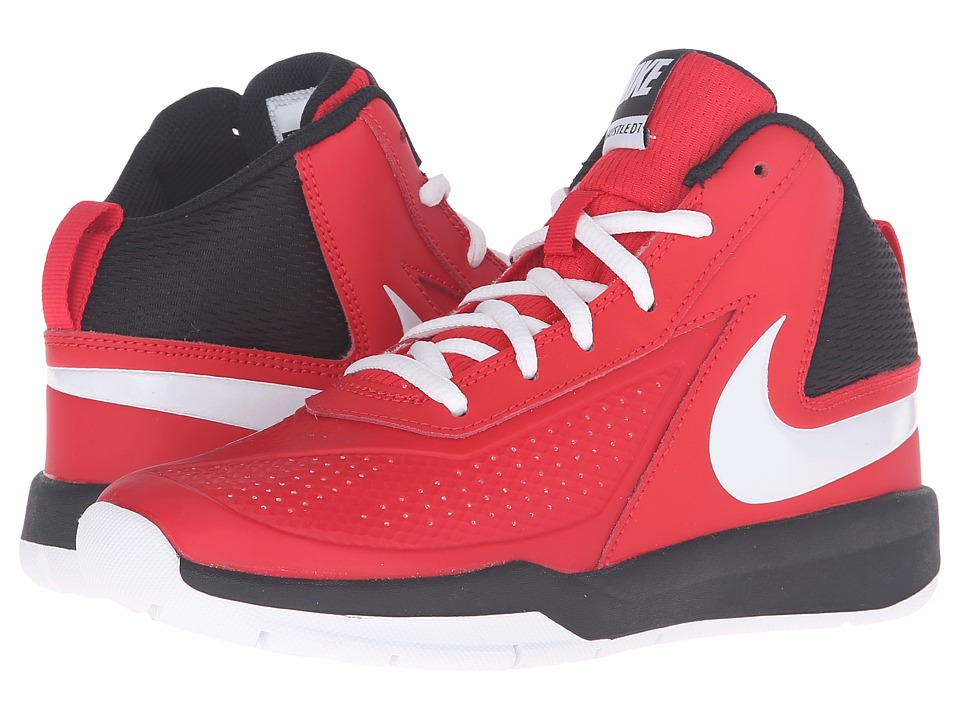 Nike Kids - Team Hustle D 7 (Big Kid) (University Red/Black/White) Boys Shoes