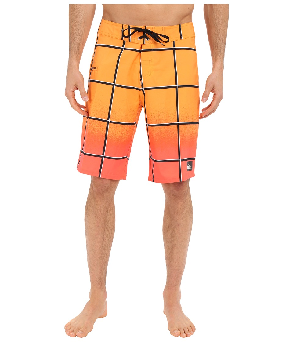 Quiksilver Electric Stretch 21 Boardshorts (Fiery Coral) Men