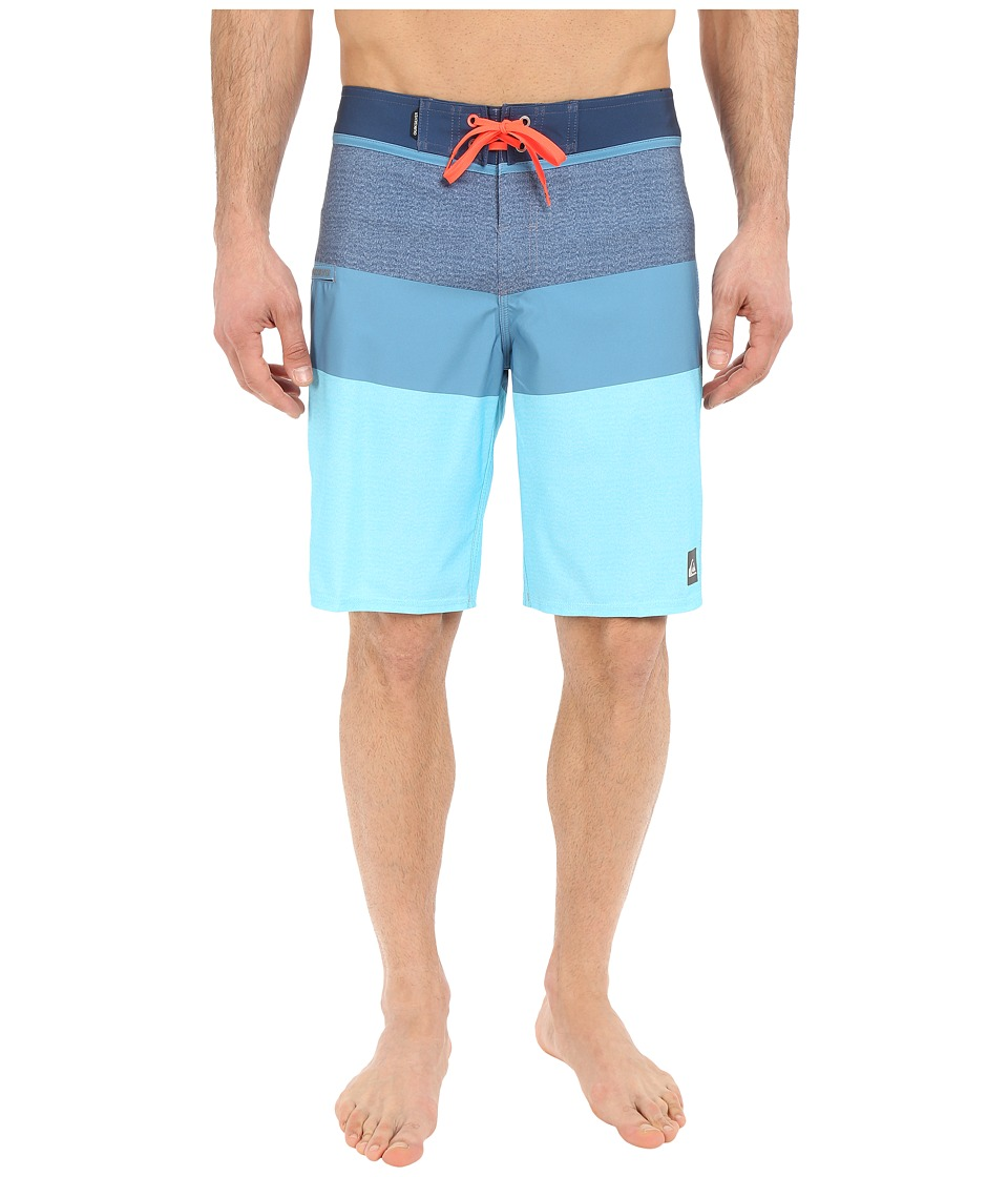 Quiksilver - Every Blocked 20 Boardshorts (Dark Denim) Men's Swimwear