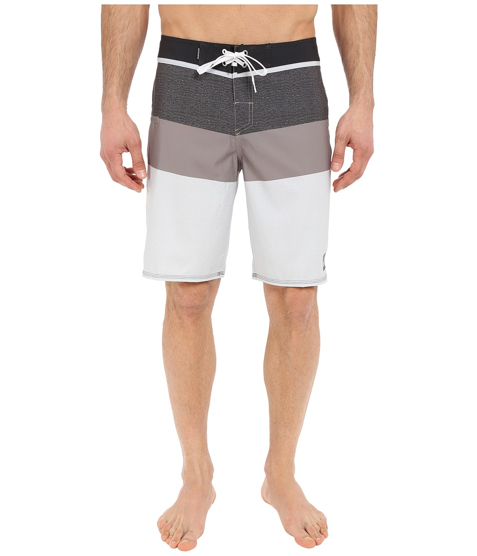 Quiksilver - Every Blocked 20 Boardshorts (Steeple Grey) Men's Swimwear
