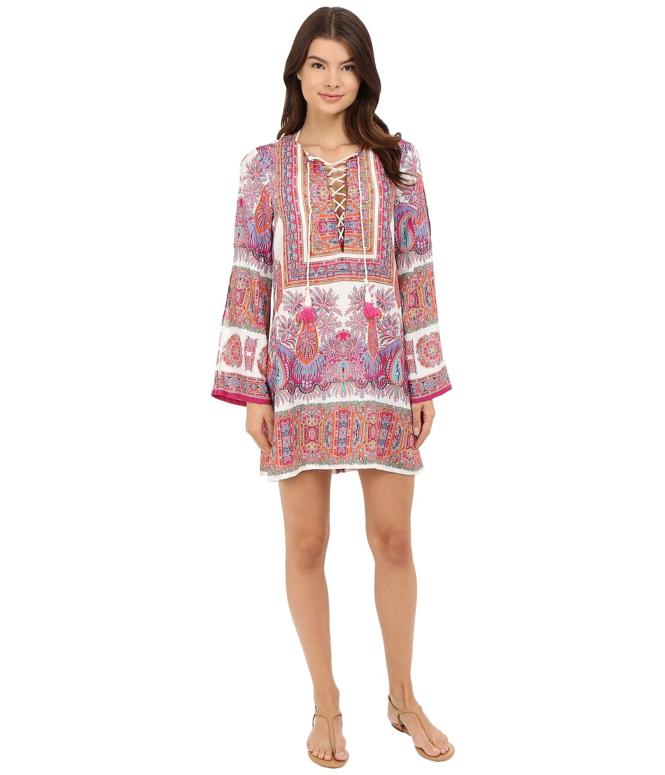 Nanette Lepore - Gypsy Queen Tunic Cover-Up (Multi) Women's Swimwear