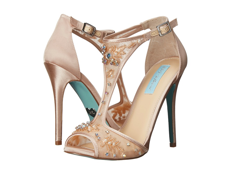 Blue by Betsey Johnson Holly (Champagne) High Heels