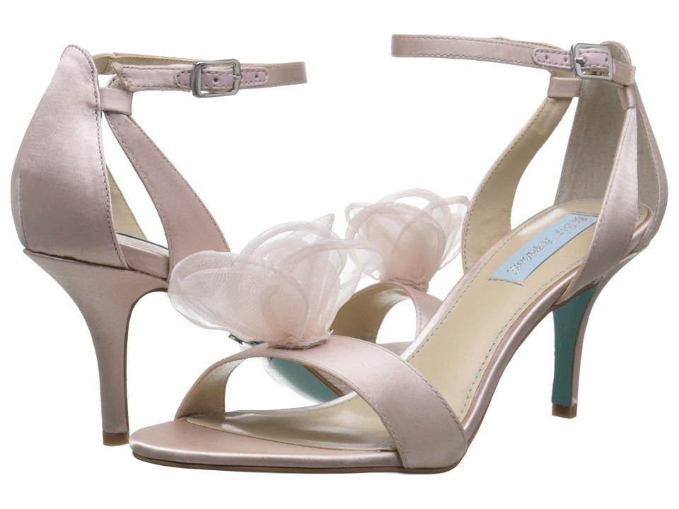 Blue by Betsey Johnson - Maddi (Blush Satin) Women's 1-2 inch heel Shoes