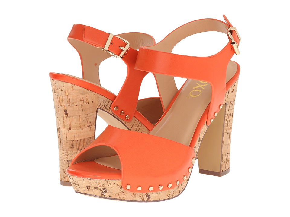 XOXO - Mindy (Orange) Women's Shoes