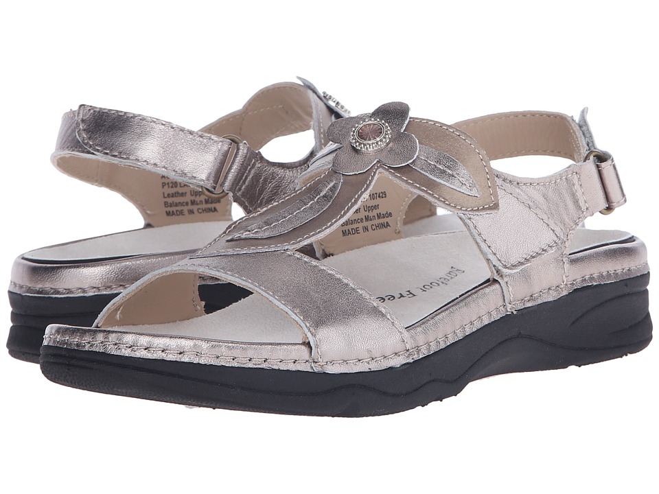 Drew - Alana (Pewter/Bronze Leather) Women's Sandals