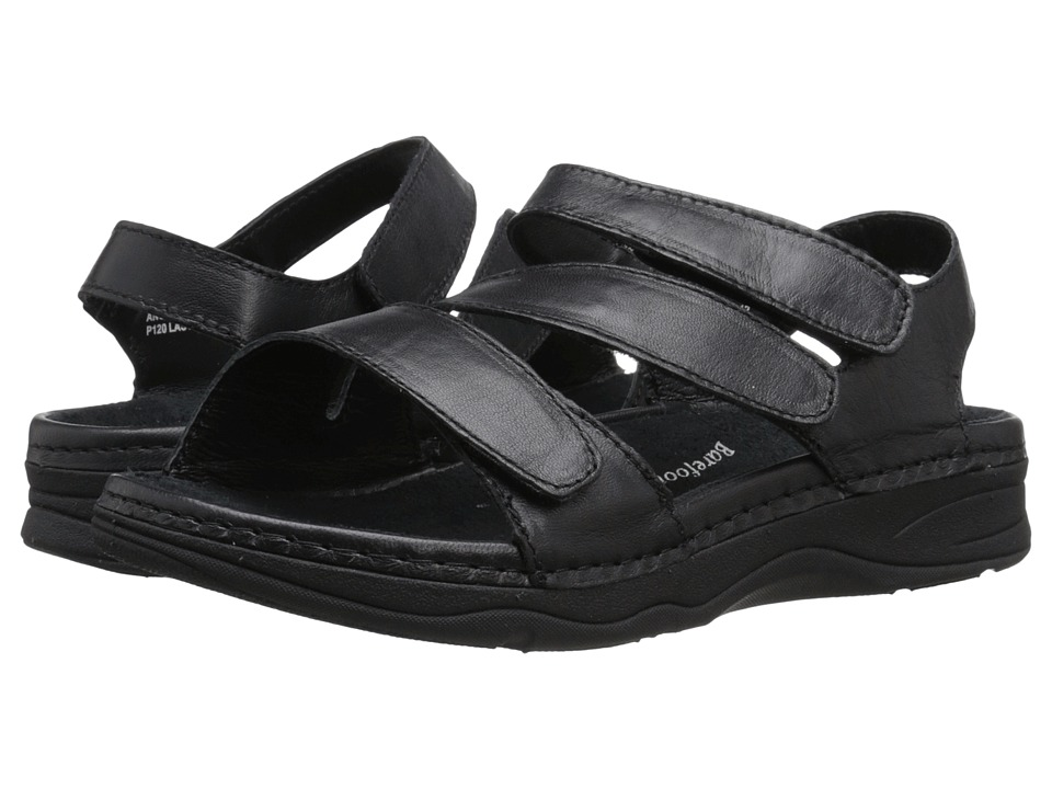 Drew - Angela (Black Smooth Leather) Women's Sandals