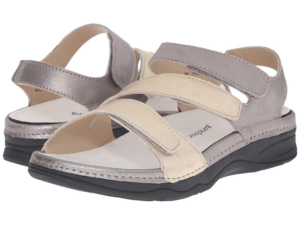 Drew - Angela (Dusty Multi Metallic Leather) Women's Sandals