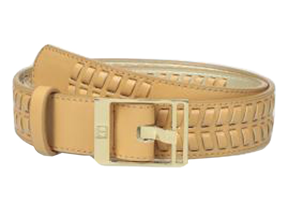 Ivanka Trump - 32mm Belt with Lacing Detail (Natural) Women's Belts