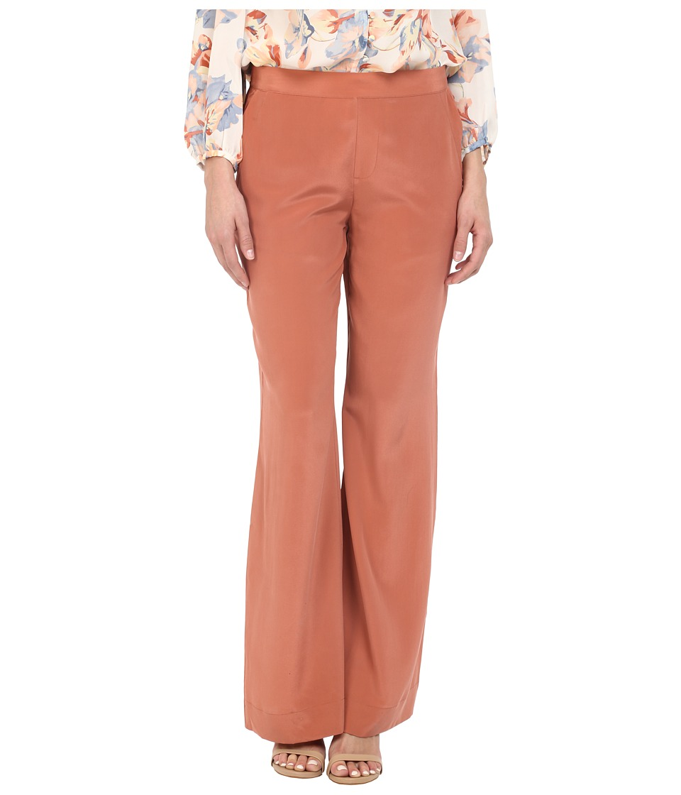Joie - Zinga High Waisted Pants (Burnt Terracotta) Women's Casual Pants