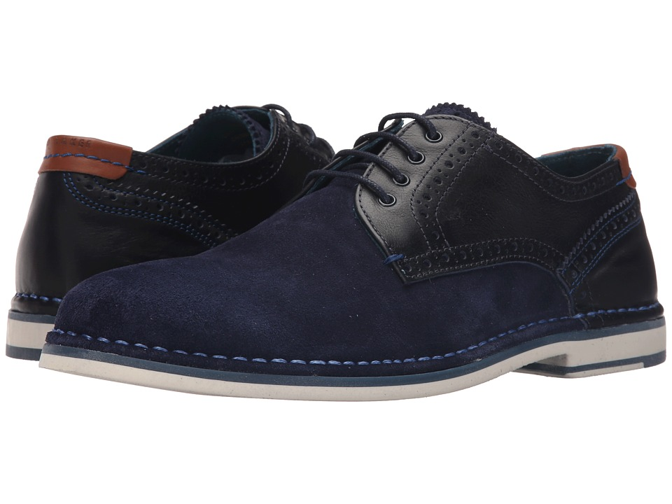 Ted Baker - Ravado (Dark Blue Suede) Men's Lace up casual Shoes