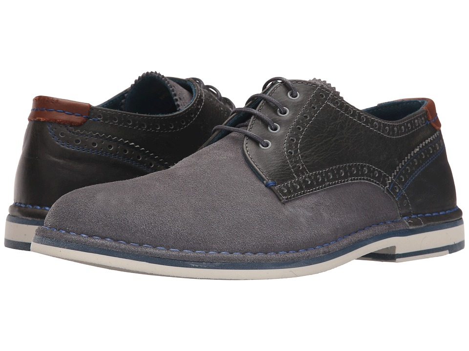 Ted Baker Ravado (Light Grey Suede) Men
