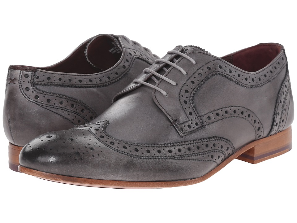Ted Baker Gryene (Light Grey Leather) Men
