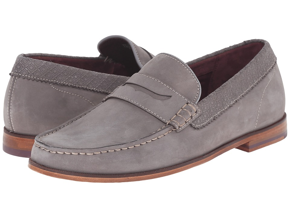 Ted Baker Miicke 2 (Light Grey Nubuck) Men