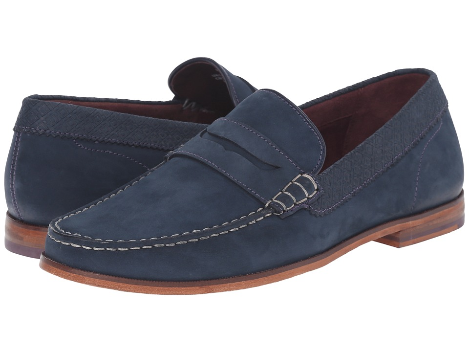 Ted Baker Miicke 2 (Dark Blue Nubuck) Men