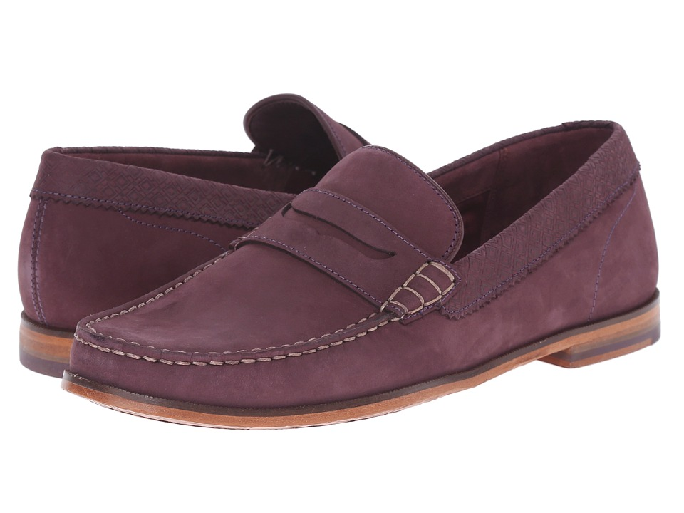 Ted Baker Miicke 2 (Dark Red Nubuck) Men