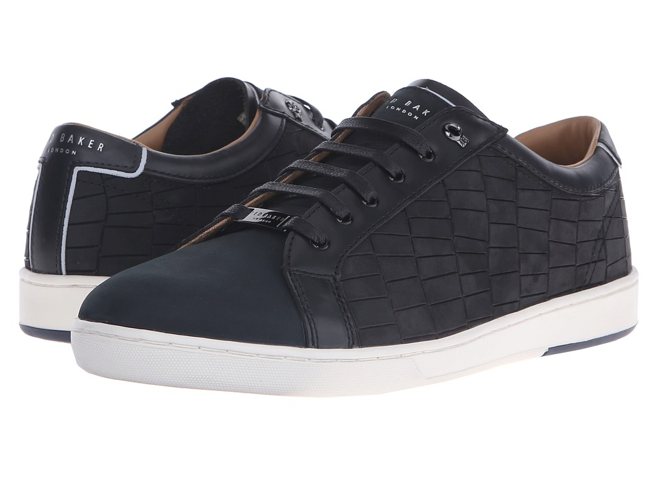 Ted Baker - Borgeo (Black Nubuck) Men's Lace up casual Shoes