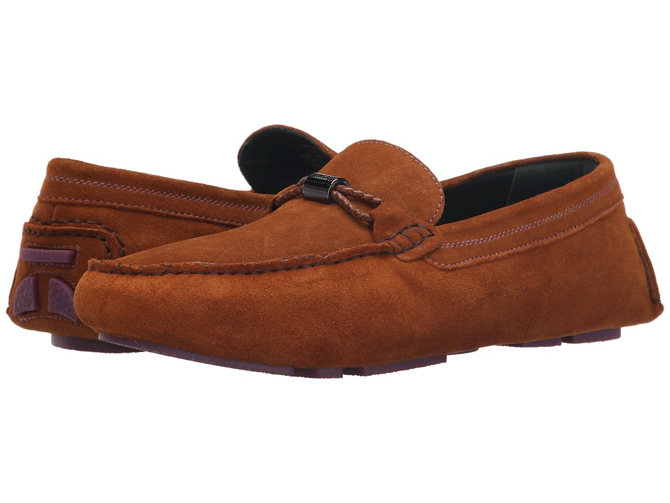 Ted Baker - Carlsun 2 (Tan Suede) Men's Slip on Shoes