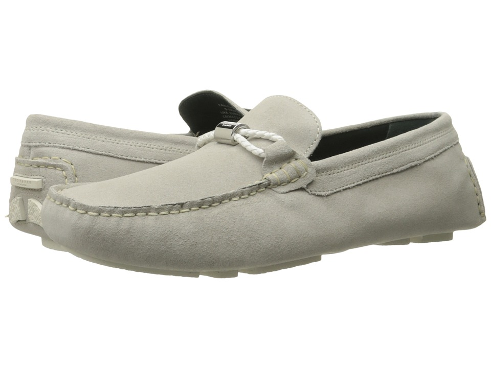 Ted Baker - Carlsun 2 (Cream Suede) Men's Slip on Shoes