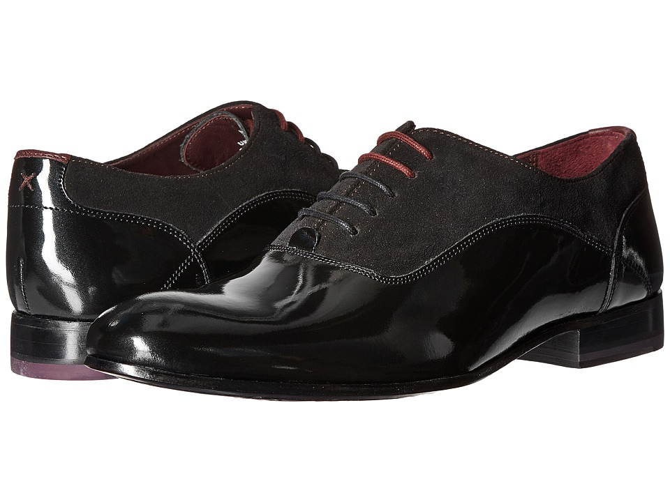 Ted Baker - Rugely (Black High Shine Leather) Men's Shoes