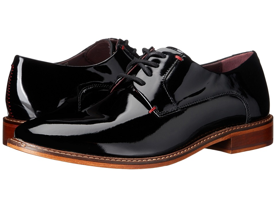 Ted Baker - Tenwal (Black Patent) Men's Plain Toe Shoes