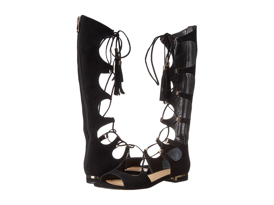 Marc Fisher LTD - MIA (Black Suede) Women's Shoes