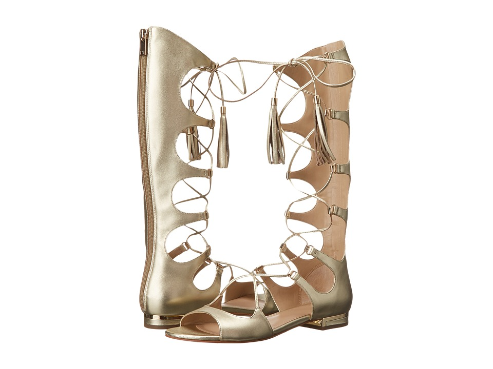 Marc Fisher LTD - MIA (Gold Leather) Women's Shoes