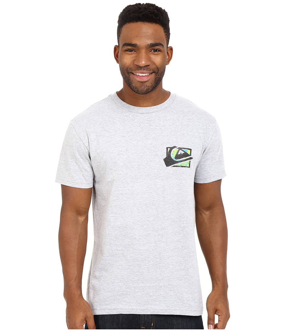 Quiksilver - Mountaion Wave Spray Tees (Athletic Heather) Men
