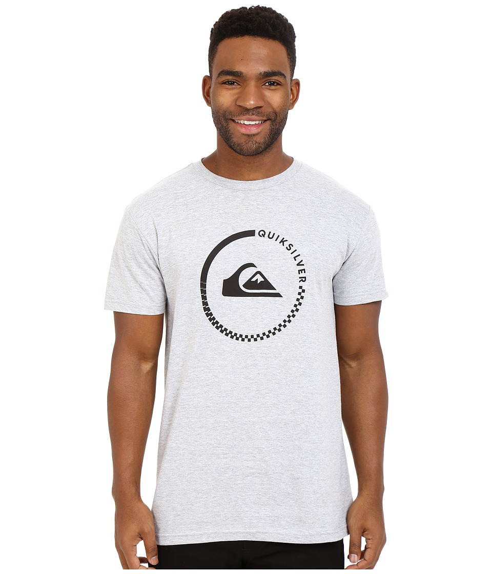 Quiksilver - Everyday Active Tees (Athletic Heather) Men's Short Sleeve Pullover