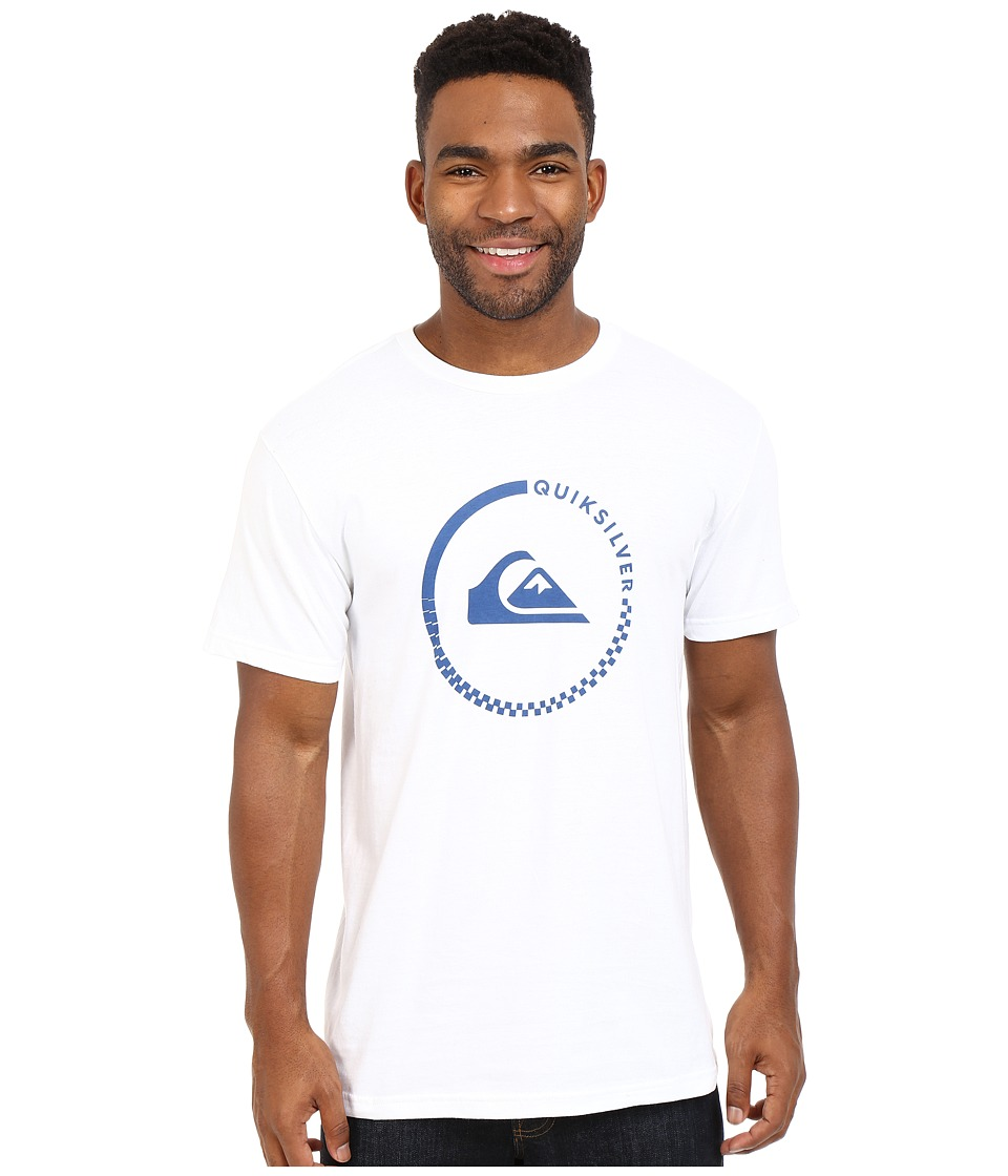 Quiksilver - Everyday Active Tees (White) Men's Short Sleeve Pullover