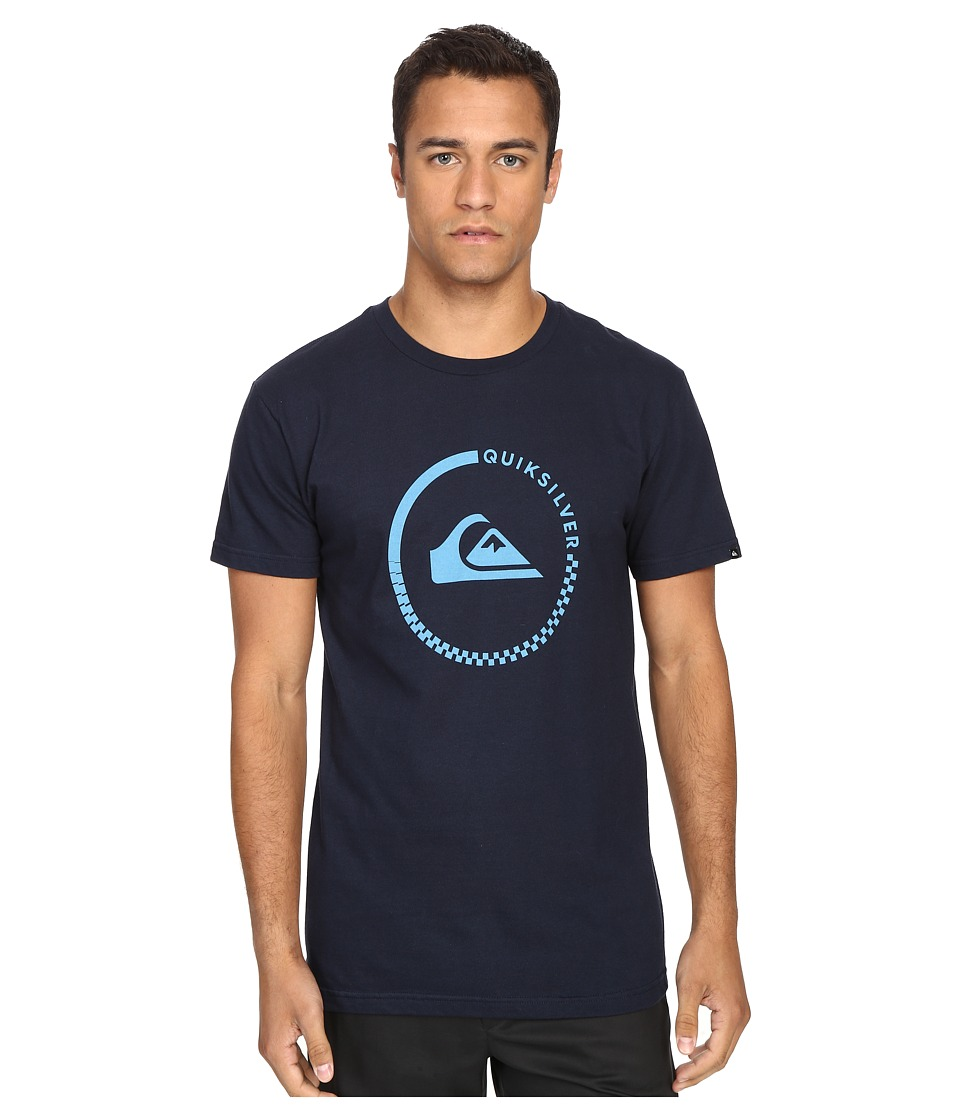 Quiksilver - Everyday Active Tees (Navy Blazer) Men's Short Sleeve Pullover
