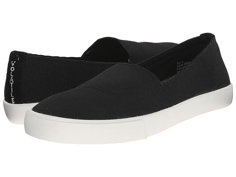 VOLATILE - Neptune (Black) Women's Slip on Shoes