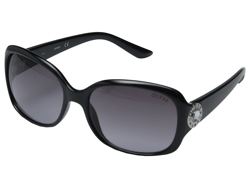 GUESS - GF0285 (Shiny Black/Gradient Smoke Lens) Fashion Sunglasses