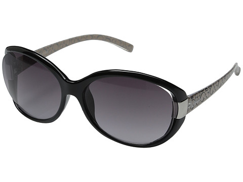GUESS - GU0214F (Black/Grey Gradient Lens) Fashion Sunglasses