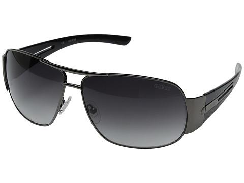 GUESS - GF0143 (Gunmetal/Grey Gradient Lens) Fashion Sunglasses